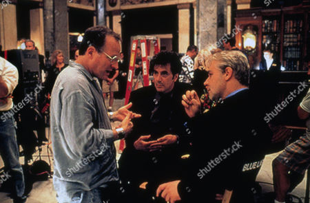 Michael Mann (Dir) on Set 'the Insider' with Al Pacino, Russell Crowe