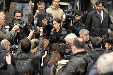 Editorial picture of Ruby Rubacuori protests in Milan, Italy - 04 Apr 2013