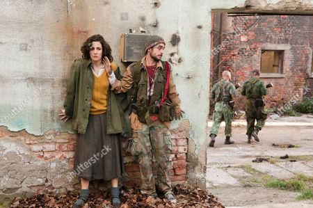 Stock Picture of IN THE LAND OF BLOOD AND HONEY (2011) Zana Marjonovic,  Ermin Sijamija