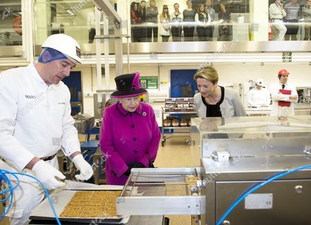 Editorial picture of Royal visit to Mars Chocolate UK, Slough, Britain - 05 Apr 2013