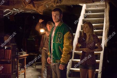 THE CABIN IN THE WOODS (2011),  Fran Kranz,   Chris Hemsworth,   Anna Hutchison