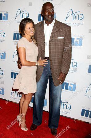 Stock Photo of Yvette Prieto and Michael Jordan