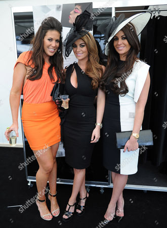 Billi Mucklow (centre) and Cara Kilbey (right)