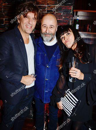 Giorgio Locatelli, Richard Young and Plaxy Locatelli