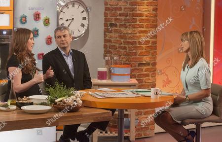 Editorial image of 'Lorraine Live' TV Programme, London, Britain - 08 Apr 2013
