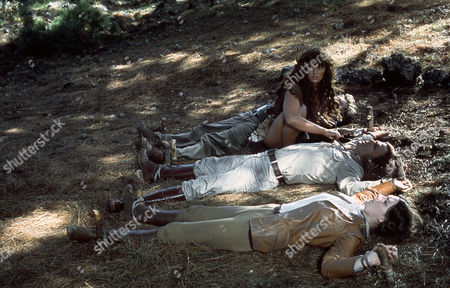 The People That Time Forgot (1977) Sarah Douglas, Patrick Wayne, Dana Gillespie