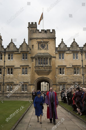 Editorial image of Royal Maundy Service at Christ Church Cathedral, Oxford, Britain - 28 Mar 2013