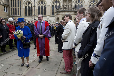 Editorial photo of Royal Maundy Service at Christ Church Cathedral, Oxford, Britain - 28 Mar 2013