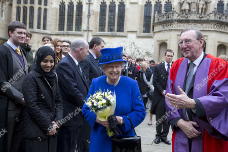 Editorial picture of Royal Maundy Service at Christ Church Cathedral, Oxford, Britain - 28 Mar 2013