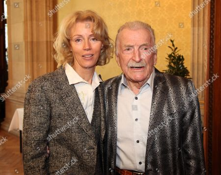 James Last and wife Christine