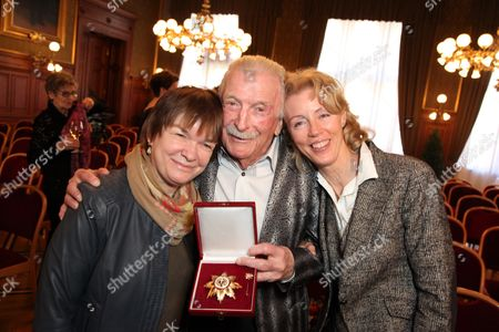 James Last and wife Christine and daughter