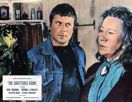 The Shuttered room (1967) Blood Island (Alt)  Oliver Reed, Flora Robson