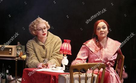 Faye Castelow (Ruth Ellis), Hilary Tones (Sylvia Shaw)