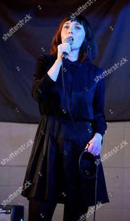 Editorial image of Sarah Blasko in concert at Rough Trade East, London, Britain - 08 Apr 2013