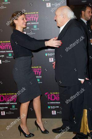 Virginie Ledoyen and Michel Piccoli