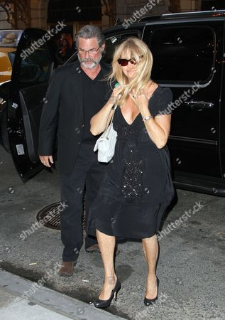 Stock Photo of Kurt Russell and Goldie Hawn
