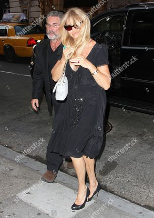 Stock Picture of Kurt Russell and Goldie Hawn