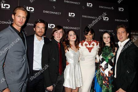 Cast of Disconnect - Alexander Skarsgard, Jason Bateman, Jonah Bobo, Haley Ramm, Paula Patton, Andrea Riseborough, Henry Alex Rubin