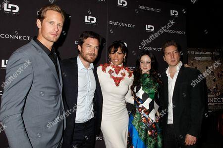 Cast of Disconnect - Alexander Skarsgard, Jason Bateman, Paula Patton, Andrea Riseborough, Henry Alex Rubin