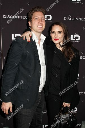 Director Henry Alex Rubin and Winona Ryder