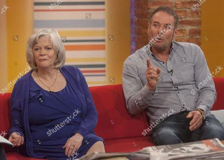 Ann Widdecombe and Derek Hatton