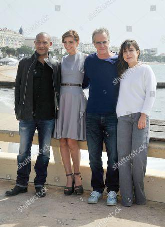 Edouard Montoute, Clotilde Courau, Christophe Lambert and Flore Bonaventura