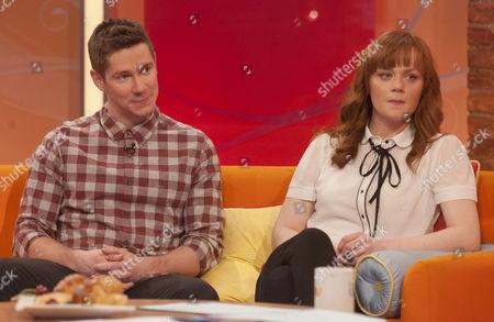 Karl Davies and Natalie Gavin