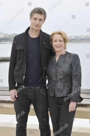 Max Irons and writer Philippa Gregory