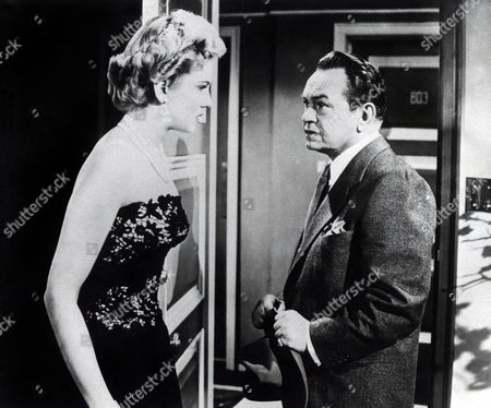 Stock Picture of The Glass Web (1953)  MARCIA HENDERSON, Edward G Robinson