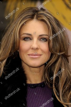 Editorial photo of Elizabeth Hurley helps Jo Hansford celebrate the 20th anniversary of her salon, London, Britain   - 09 Apr 2013