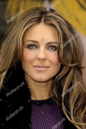 Editorial picture of Elizabeth Hurley helps Jo Hansford celebrate the 20th anniversary of her salon, London, Britain   - 09 Apr 2013
