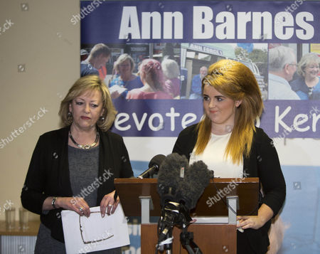 Paris Brown and Ann Barnes, Kent Police and crime Commissioner