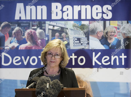 Stock Picture of Ann Barnes, Kent Police and crime Commissioner