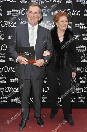 Sir Terry Wogan and Lady Wogan aka Helen Joyce