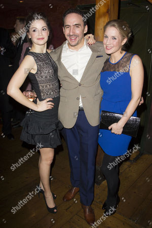 Stock Photo of Flora Spencer-Longhurst, Jez Unwin and Miria Parvin