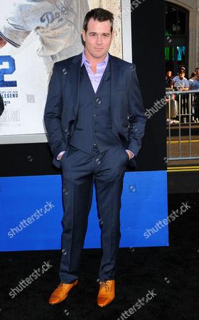 Editorial image of '42' film premiere, Los Angeles, America - 09 Apr 2013
