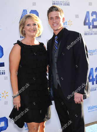Editorial photo of '42' film premiere, Los Angeles, America - 09 Apr 2013