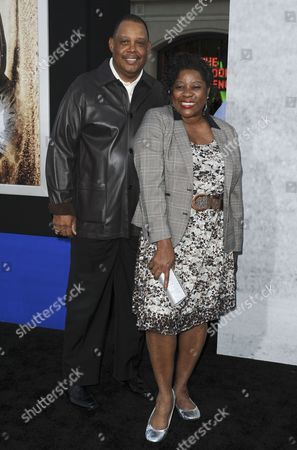 Loretta Devine & husband Glenn Marshall