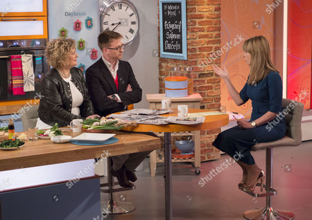 Eleanor Mills and Olly Kendall with Kate Garraway
