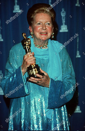 Deborah Kerr with Honorary Oscar for her screen achievements.