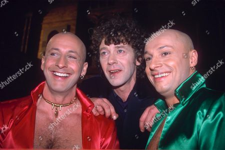 RIGHT SAID FRED- RICHARD FAIRBRASS WITH ROB MANZOLI AND FRED FAIRBRASS