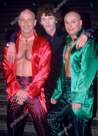 RIGHT SAID FRED - RICHARD FAIRBRASS WITH ROB MANZOLI AND FRED FAIRBRASS