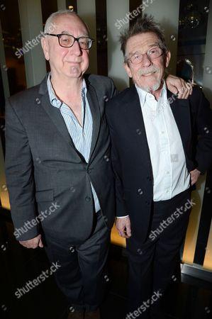 Don Boyd and John Hurt