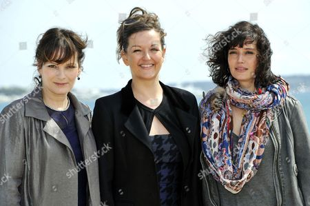 Stock Picture of Cecilia Hornus, Anne Girouard and Helene Seuzaret