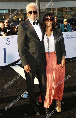 Morgan Freeman and Daughter Morgana Freeman