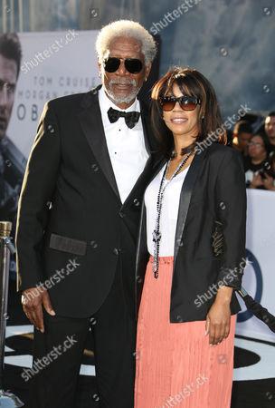 Editorial image of 'Oblivion' film premiere, Los Angeles, America - 10 Apr 2013