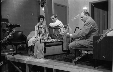 Katharine Blake, Ian Hendry and Guy Deghy