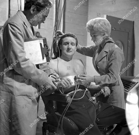 Ronald Leigh Hunt, Patrick Macnee and Sylva Langova