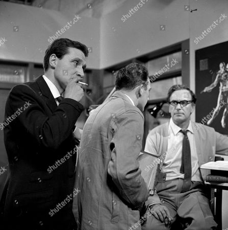Patrick Macnee and Ronald Leigh Hunt