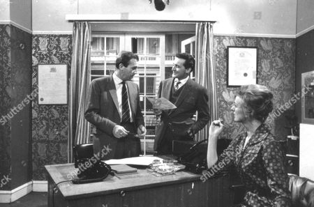 Stock Photo of Ian Hendry, Patrick Macnee and Sheila Robins